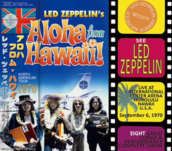 画像1: LED ZEPPELIN-ALOHA FROM HAWAII 1970 【1CD】 (1)