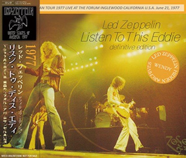 画像1: LED ZEPPELIN-LISTEN TO THIS EDDIE definitive edition 【3CD】 (1)