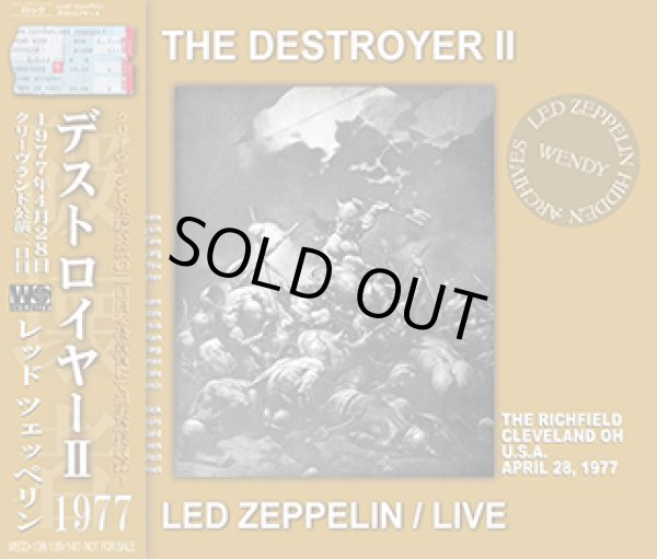 画像1: LED ZEPPELIN-THE DESTROYER II 【3CD】 (1)