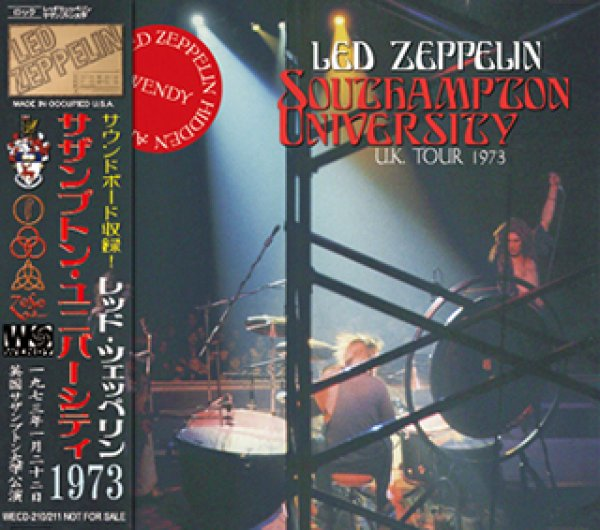 画像1: LED ZEPPELIN-SOUTHAMPTON UNIVERSITY 【2CD】 (1)