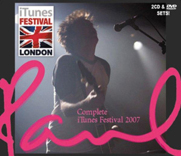 画像1: Paul McCartney-COMPLETE iTUNES FESTIVAL 2007 【2CD+1DVD】  (1)
