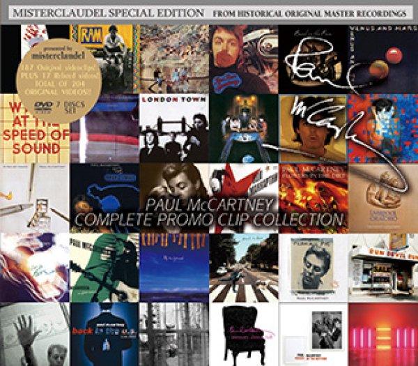 画像1: Paul McCartney-COMPLETE PROMO CLIP COLLECTION 【7DVD】 (1)