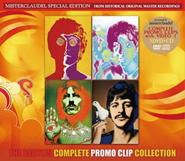 画像1: The Beatles-COMPLETE PROMO CLIP COLLECTION 【5DVD+CD】 (1)