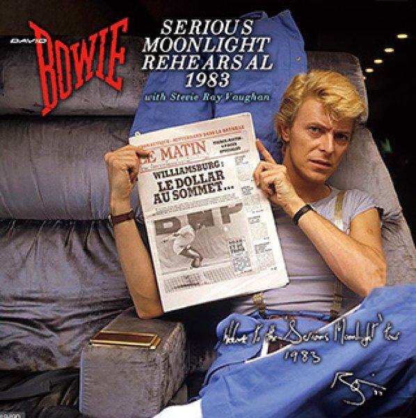 画像1: David Bowie-SERIOUS MOONLIGHT REHEARSAL 1983 【2CD】 (1)
