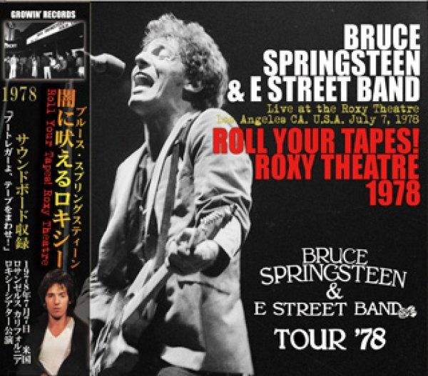 画像1: Bruce Springsteen-ROLL YOUR TAPES! ROXY THEATRE 1978 【3CD】 (1)