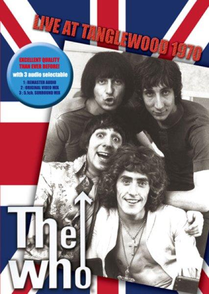 画像1: The Who-LIVE AT TANGLEWOOD 1970 【1DVD】 (1)