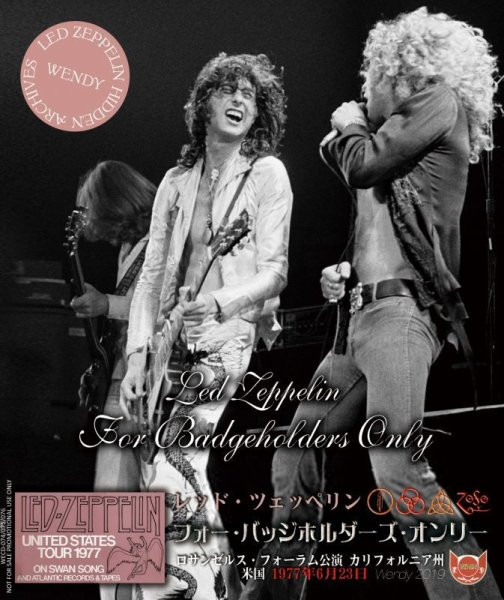 画像1: LED ZEPPELIN / FOR BADGEHOLDERS ONLY 【3CD】  (1)