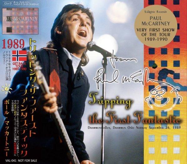 画像1: PAUL McCARTNEY / TRIPPING THE FIRST FANTASTIC 1989 【2CD】  (1)
