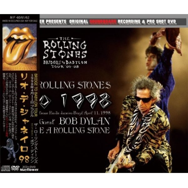 画像1: THE ROLLING STONES / RIO 1998 【2CD+DVD】 (1)