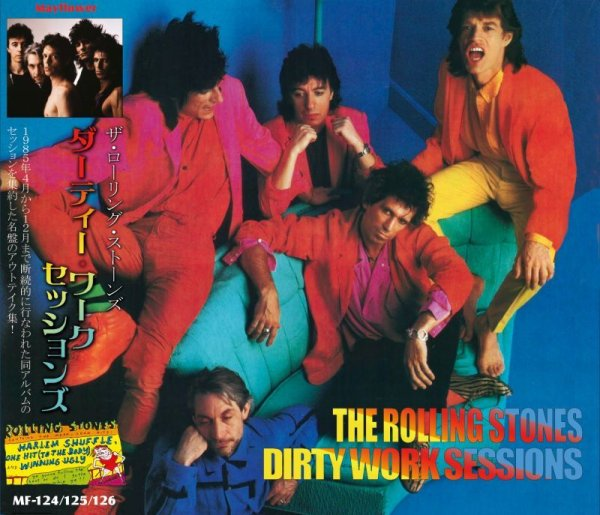 画像1: THE ROLLING STONES / DIRTY WORK SESSIONS 【3CD】  (1)