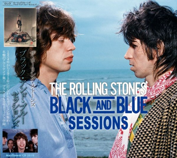 画像1: THE ROLLING STONES BLACK AND BLUE SESSIONS 【2CD】  (1)