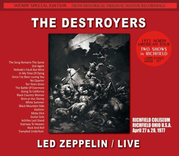 画像1: LED ZEPPELIN / THE DESTROYERS 1977 【6CD】  (1)