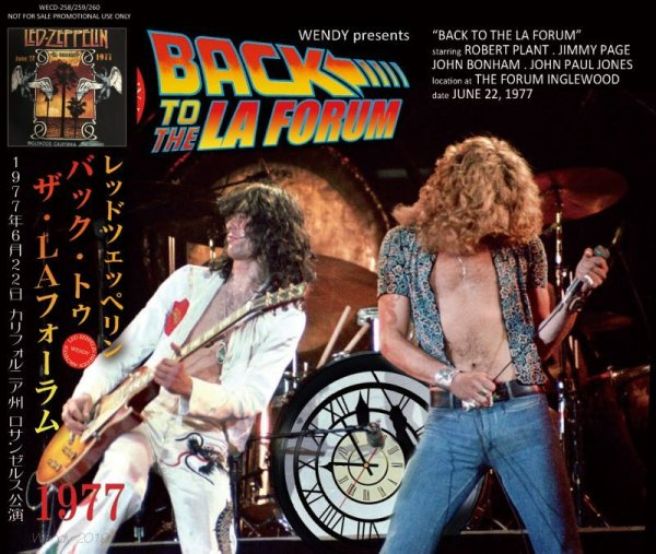 画像1: LED ZEPPELIN / BACK TO THE LA FORUM 1977 3CD  (1)