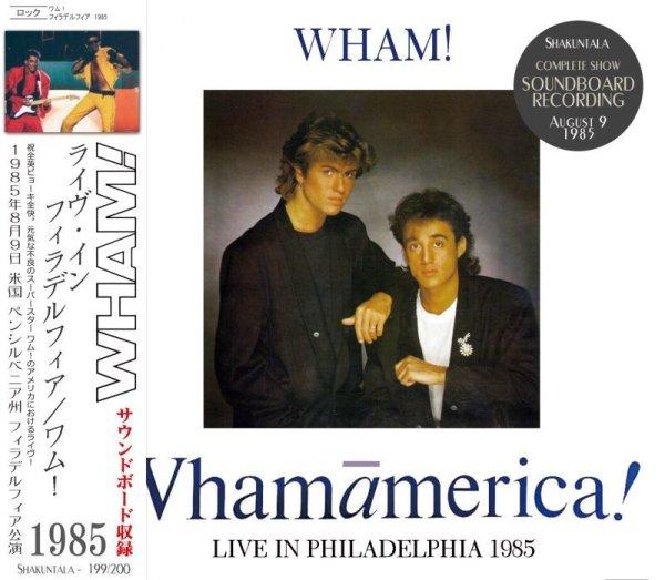 画像1: WHAM! / LIVE IN PHILADELPHIA 1985 【2CD】  (1)
