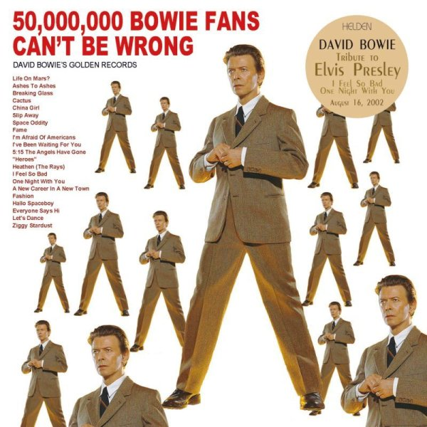 画像1: DAVID BOWIE / 50,000,000 BOWIE FANS CAN'T BE WRONG 2CD  (1)