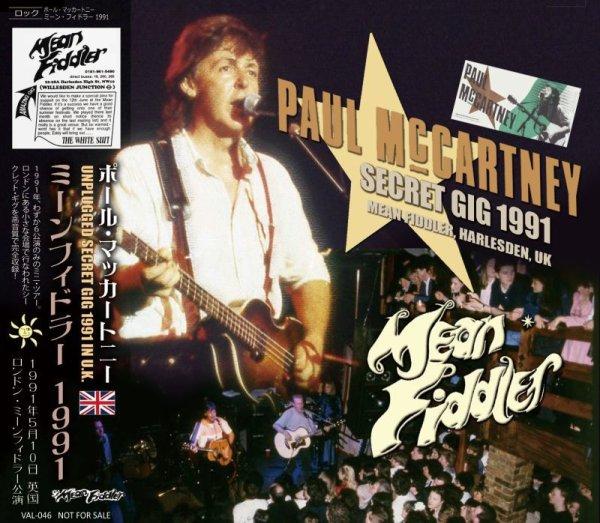 画像1: PAUL McCARTNEY 1991 MEAN FIDDLER 2CD (1)