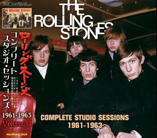 画像1: THE ROLLING STONES COMPLETE STUDIO SESSIONS 1961-1963 CD  (1)