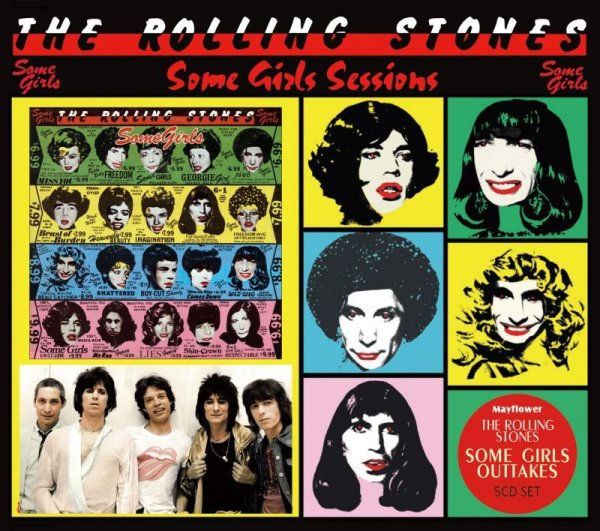 画像1: THE ROLLING STONES SOME GIRLS SESSIONS 5CD  (1)