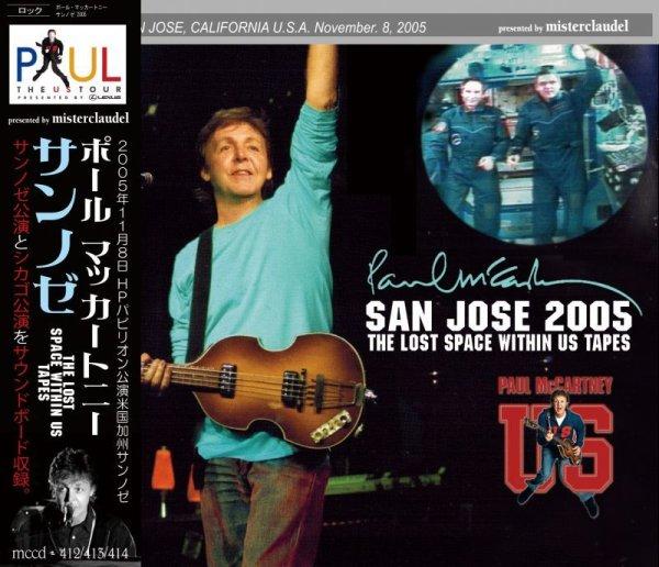 画像1: PAUL McCARTNEY SAN JOSE 2005 THE LOST SPACE WITHIN US TAPES 3CD  (1)