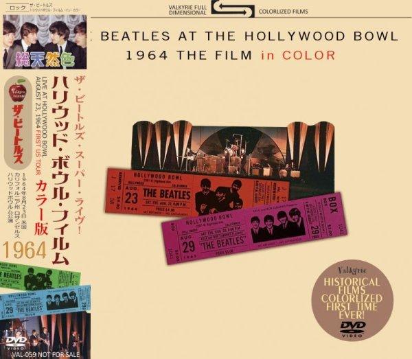 画像1: THE BEATLES AT THE HOLLYWOOD BOWL 1964 THE FILM in COLOR DVD  (1)