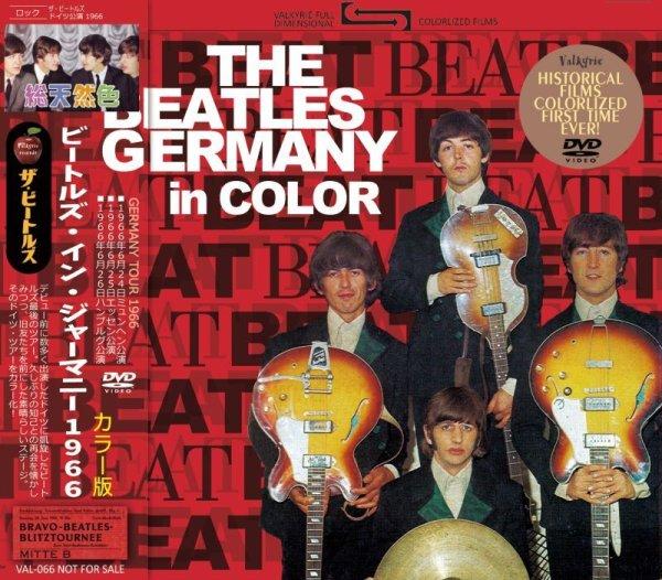 画像1: THE BEATLES 1966 GERMANY in COLOR 2DVD  (1)